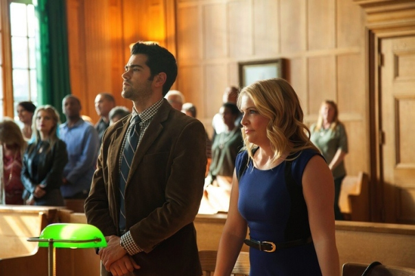 Jesse Metcalf3 and Melissa Joan Hart in God's Not Dead 2