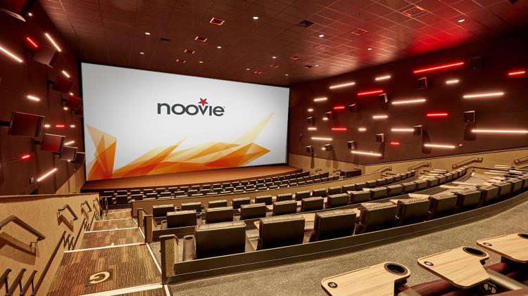 CinemarkTheCut Noovie auditorium